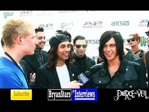 Pierce The Veil & Sleeping With Sirens Interview AP Music Awards 2014
