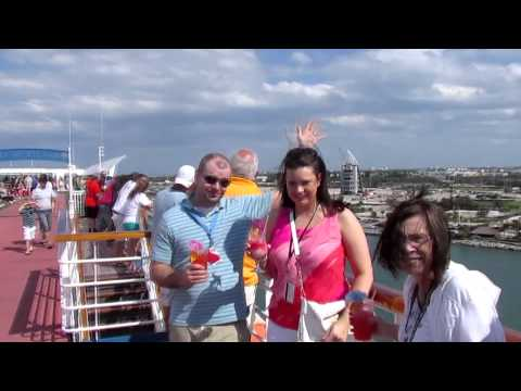 Carnival Ecstasy Cruise Day 1