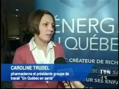 Conférence de presse du PLQ - Un Québec en santé (TVA)
