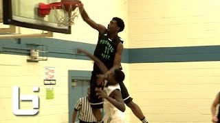 Josh Jackson NASTY Off Backboard Dunk ALL OVER Defender!