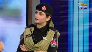 Story of Pakistan's first female bomb disposal officer