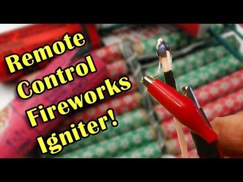 Remote Control Fireworks Igniter! Boom!