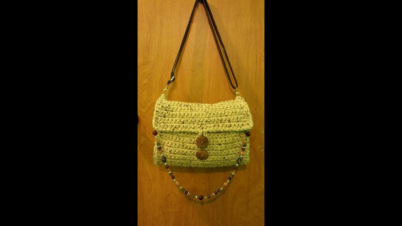 Crochet Bag Youtube : ... Handbag Purse #TUTORIAL DIY crochet How to crochet a purse - YouTube