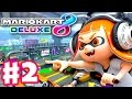 Mario Kart 8 Deluxe - Gameplay Walkthrough Part 2 - Flower Cup 50cc 100cc! (Nintendo Switch)