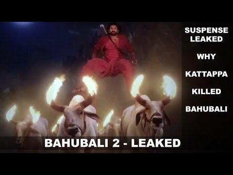 Bahubali 2 Leaked - Suspense Leaked Why Kattappa Killed Bahubali ? thumbnail