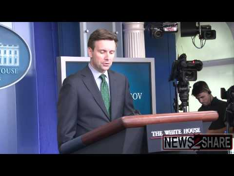 Josh Earnest Asked if Israel Committing War Crimes