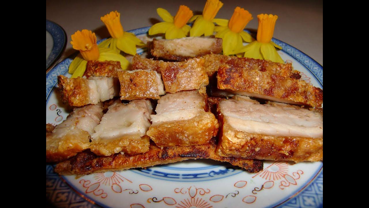 siu yuk crispy roast pork crispy pork belly recipe siu siu skin crispy ...