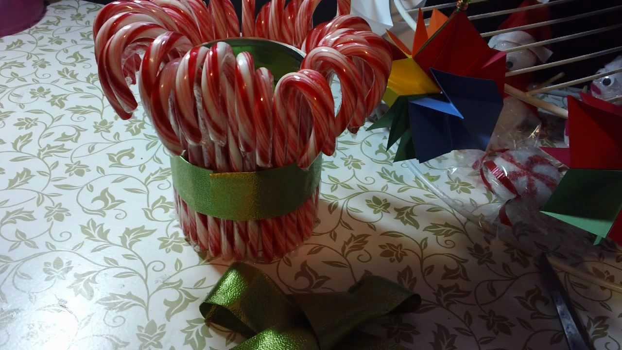 Centro de mesa para navidad comestible original y - Centros navidenos de mesa ...
