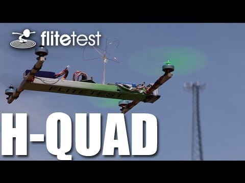 Flite Test - H-Quad Multirotor - REVIEW