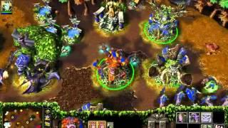 Запись игр 2х2 Miker + Abver warcraft 3 (от лица Miker'a)