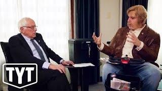 Sacha Baron Cohen Trolls Bernie Sanders