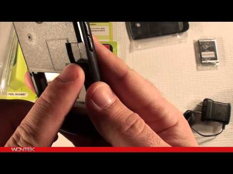 Straight Talk Samsung R375C Unboxing