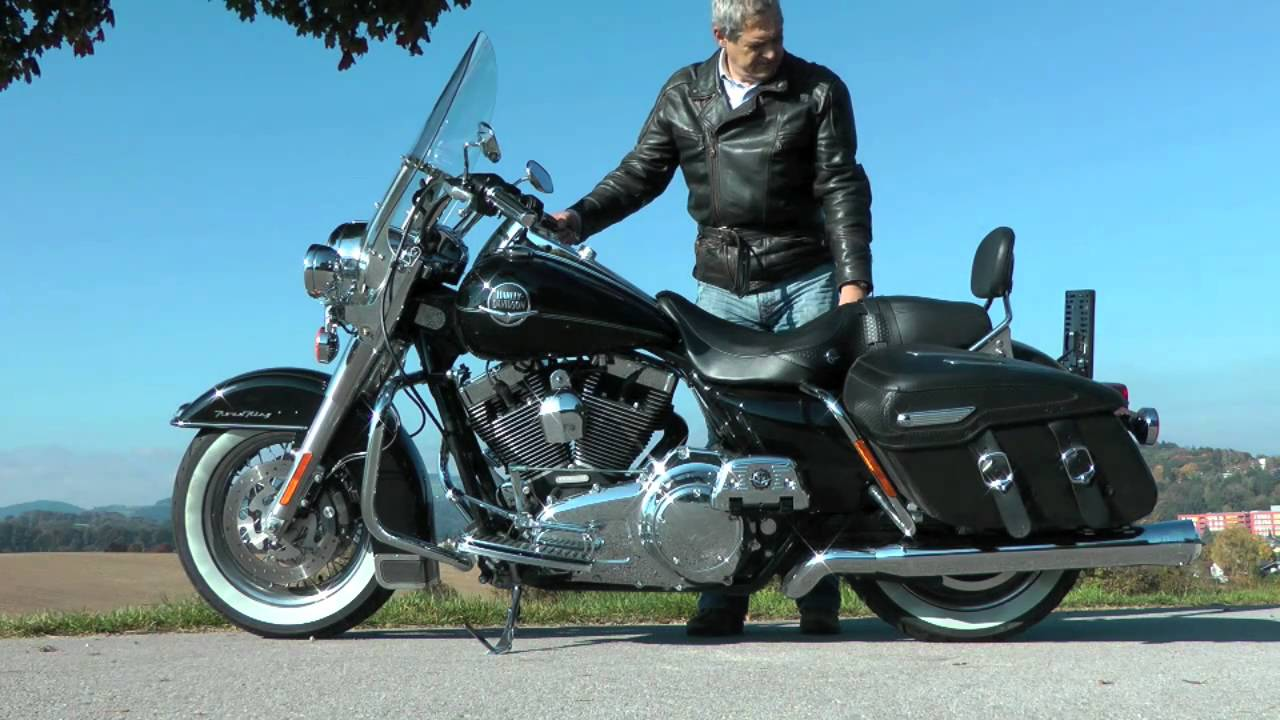 BSL Sound Harley Davidson Road King Classic 2010 - YouTube