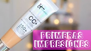It Cosmetics CC Cream | Primeras Impresiones