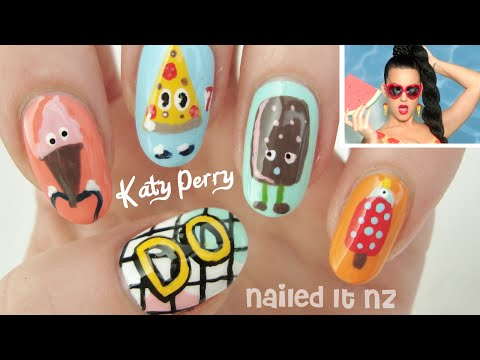 Katy Perry - This Is How We Do | Nail Art Tutorial