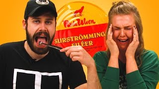 Irish People Try Surströmming (World
