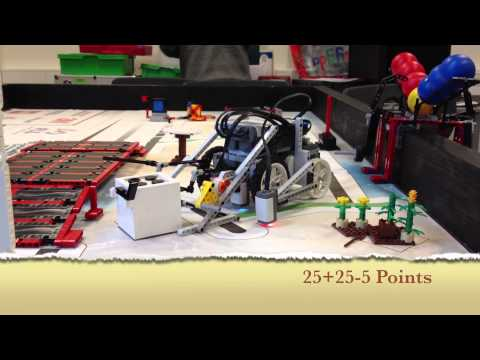 FLL First Lego League Senior Solutions 2012 510points