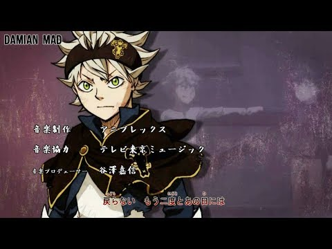 【MAD】Black Clover opening 2 - STORY