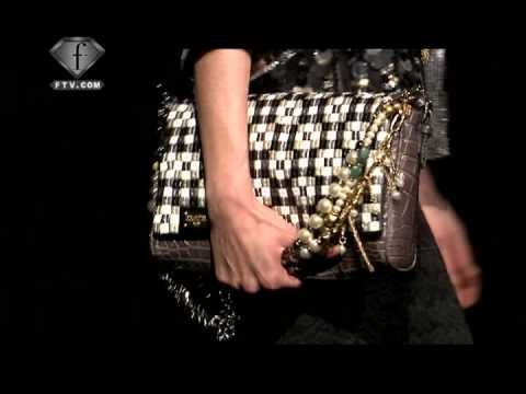 Dolce & Gabbana Runway Show 2009 | FashionTV - FTV.com