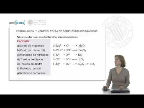 Compuestos químicos: enlace y nomenc. Compuestos binarios oxigenados (soluciones ejercicio).© UPV