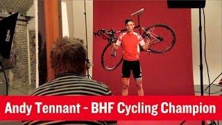 Andy Tennant BHF Cycling Champion