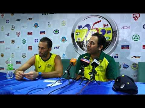 Australia Press Conference post Malaysia game