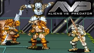 Aliens vs Predator Arcade Co op Playthrough Longplay 2 Players