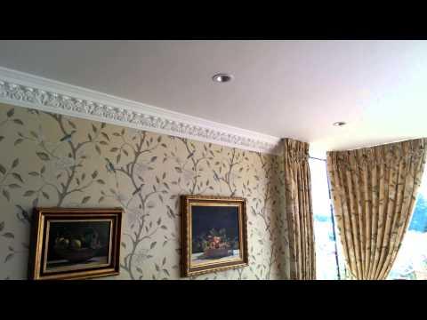 Alpha Ceilings installation of WP 213  Cornice