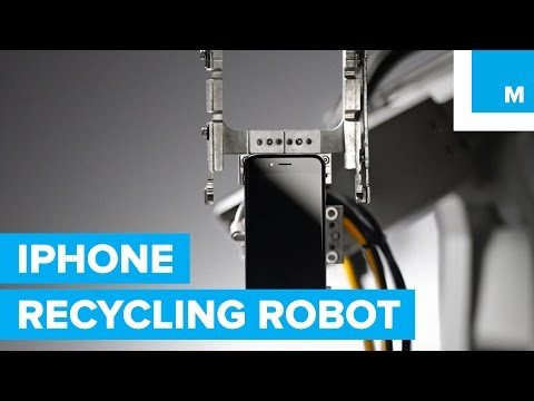 Exclusive: Apple's Liam iPhone Recycling Robot First Look | Mashable