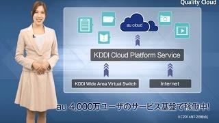KDDI クラウドプラットフォームサービス(自社サービスのユースケース)