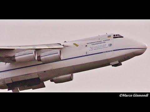 Plane Spotting at Rome Fiumicino Airport | 02 - 2016 [1080p50]