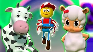 Incy wincy araignée | Comptines | 3d bébé Chansons | Songs For Kids | Itsy Bitsy Spider
