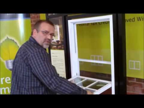 How to remove sash glass from a Vinyl Replacement Double Hung or Single Hung Window
