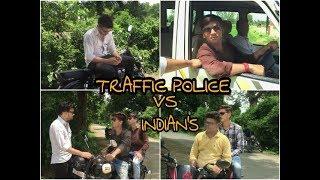 TRFFIC POLICE VS  INDIANS || upiya entertainments || ue