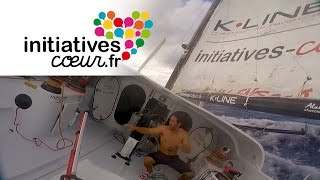 Manoeuvre périlleuse sur le bateau Initiatives-Coeur