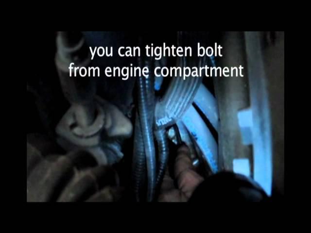 BMW Crank Sensor replacement - YouTube