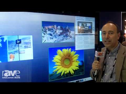 InfoComm 2015: T1V Experience Interactive Shows The Cube 84″ 4K ThinkHub Software