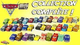 Mini Racers Collection Complète 39 Voitures Disney Cars Wave 1 à 3 Jouets Toy Review McQueen