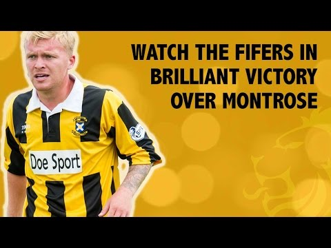 Watch the Fifers in brilliant victory over Montrose