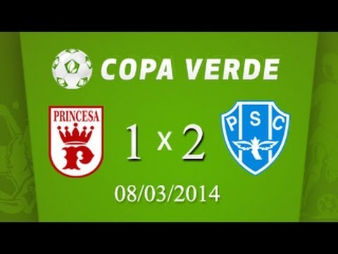 (PAYSANDU 2 X 1 PRINCESA DO SOLIMÕES - 08/03/2014) Papão vence e se classifica