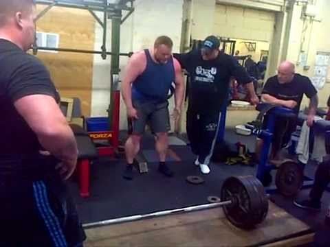 Andy Bolton and Benni Magnusson Deadlift Training Image 1