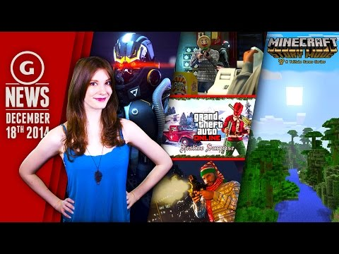 New Minecraft Game & GTA Online Gets Christmas Update! - GS Daily News