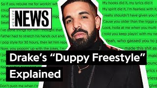 """Drake's """"Duppy Freestyle"""" Explained 