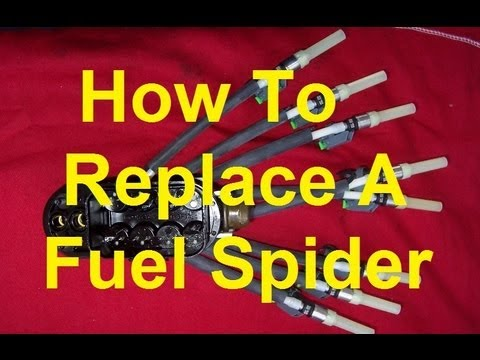 How To Replace The Fuel Spider/Fuel Pressure Regulator on a GM 4.3/5.7 V6/V8