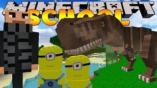 Minecraft School - SUCKED INTO A MOVIE!