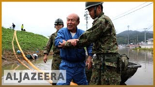 Japan begins clean-up after Typhoon Hagibis leaves dozens dead