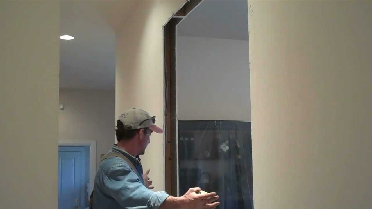 how to re frame interior walls home renovation tips youtube