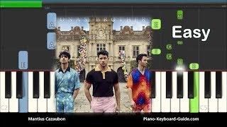 Jonas Brothers Sucker For You Easy Piano Tutorial