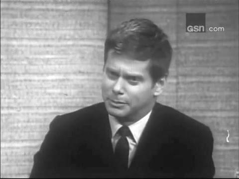 What's My Line? - Jonathan Cerf & Peter Gabel; Robert Morse; PANEL: Pamela Tiffin (Mar 12, 1967)