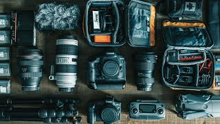 What's in my CAMERA BAG 2019?!